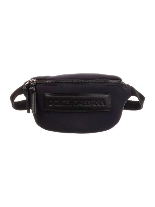 Dolce & Gabbana Black Bag With Dolce E Gabbana Kids