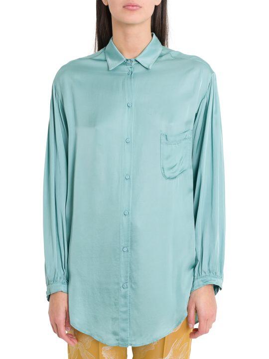 Forte_Forte Oversize Satin Shirt