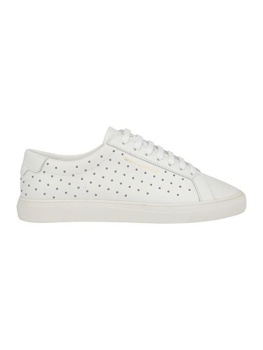 Saint Laurent Andy Pearl Sneakers