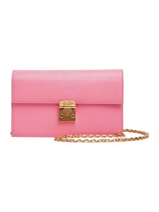 Mark Cross Pink Jacquile Wallet Bag