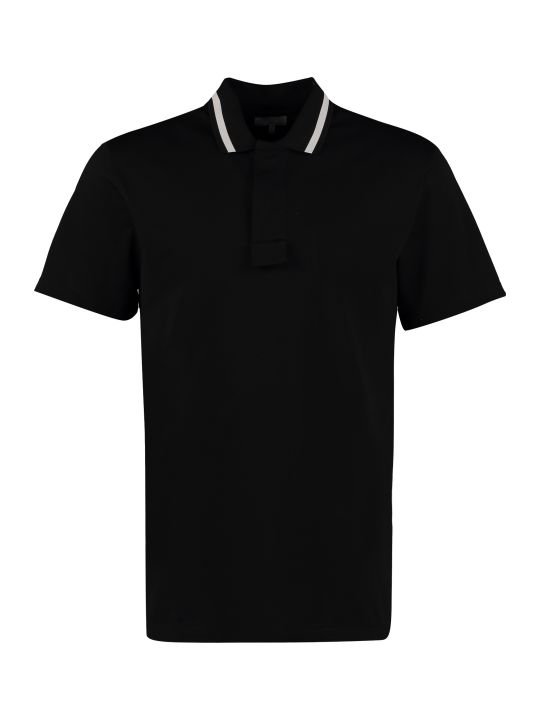 Lanvin Short-sleeved Cotton Polo Shirt