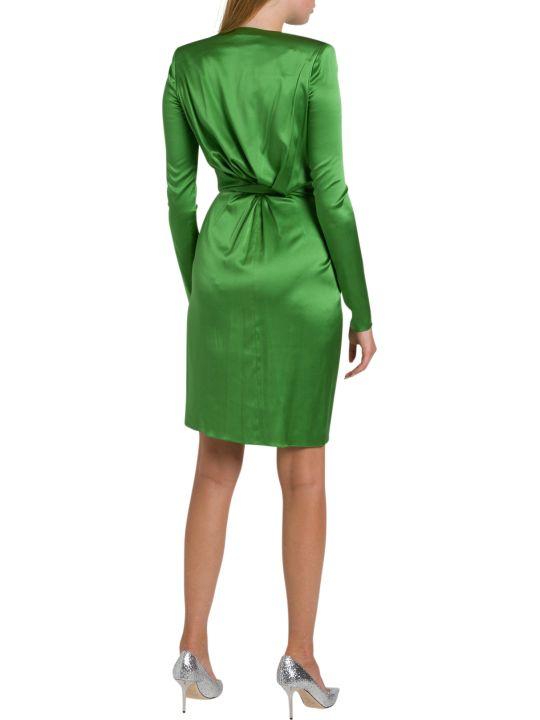 Alexandre Vauthier Draped Silk-blend Mini Dress