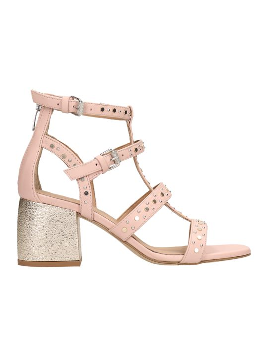 Janet & Janet Powder Leather Sandals