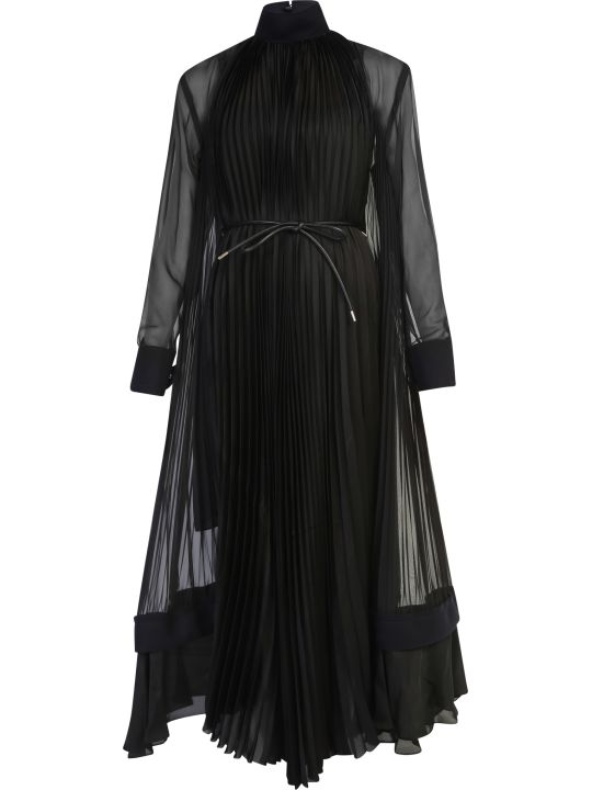 Sacai Pleated Dress