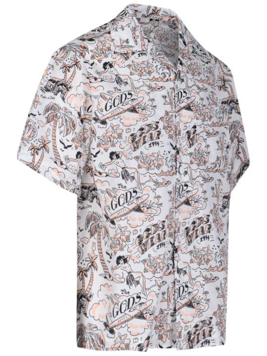 GCDS Hawaian Shirt