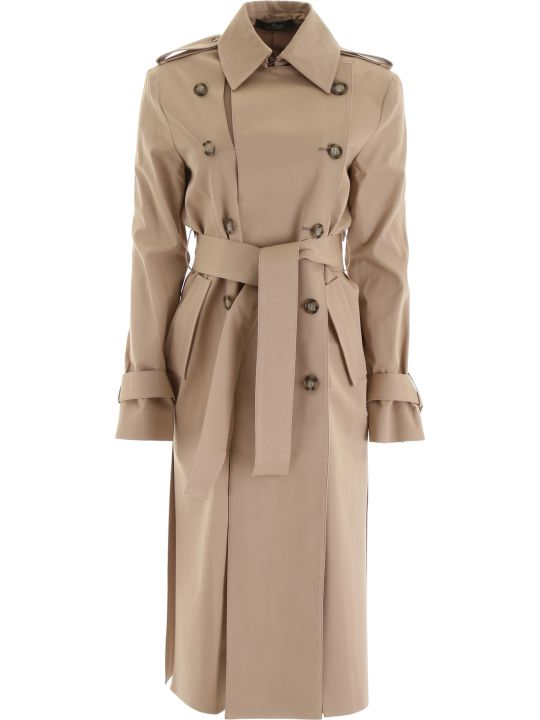 Rokh Gabardine Trench Coat