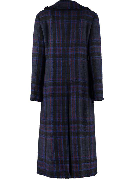 Jucca Wool Blend Tweed Coat