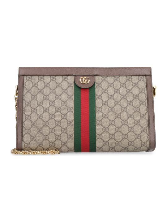 Gucci Ophidia Gg Supreme Fabric Shoulder-bag