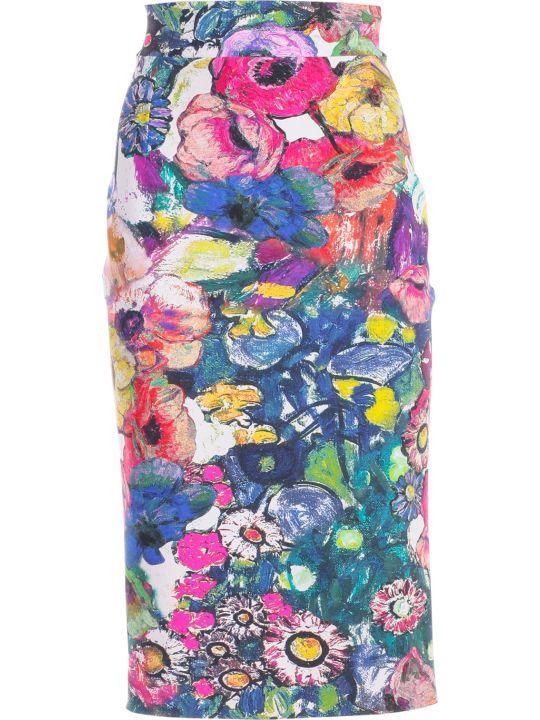 La Petit Robe Di Chiara Boni Chiara Boni La Petite Robe Printed Skirt