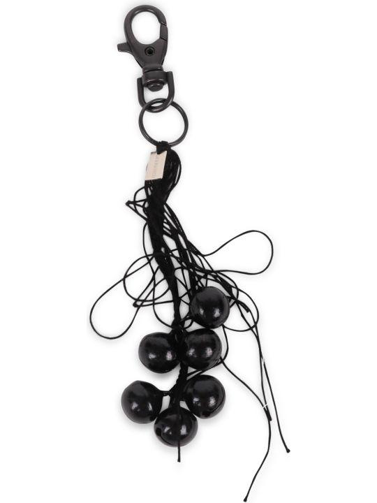 Ann Demeulemeester Black Keychain