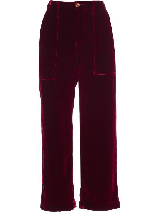 Jejia Pants Velvet Silk