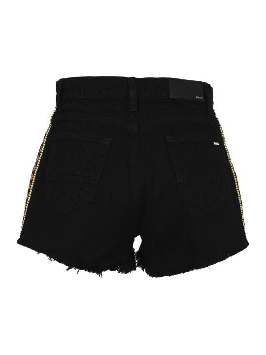 AMIRI High Waisted Denim Shorts