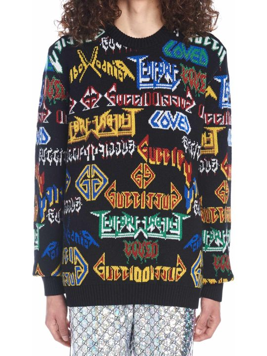Gucci 'gucci Metal' Sweater