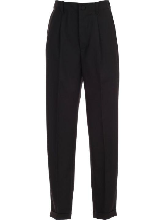 Blumarine Pants Elastic Waist W/lapel