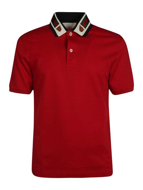 Gucci Web Polo Shirt