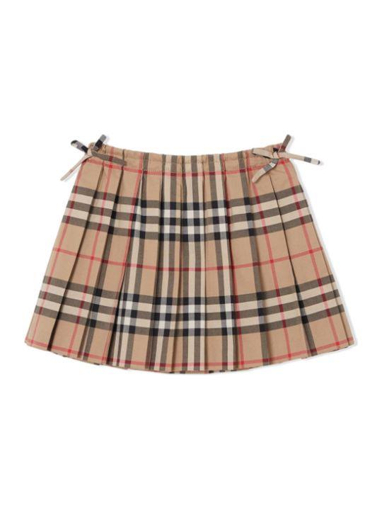 Burberry Folded Skirt Girl