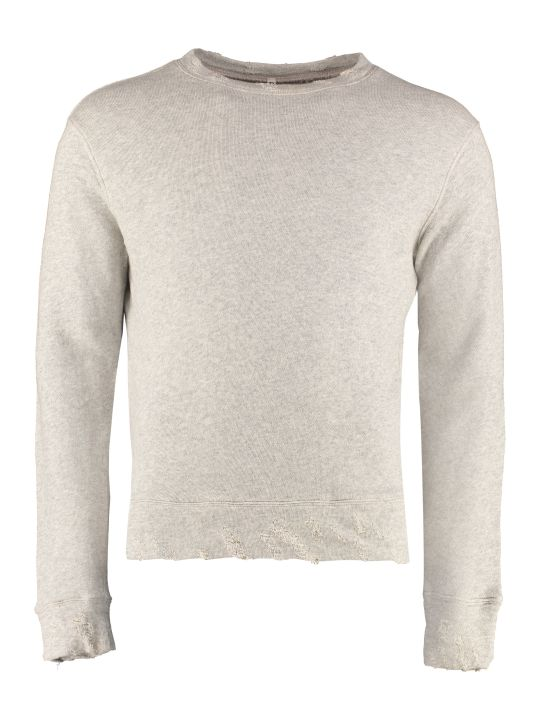 R13 Cotton Crew-neck Sweatshirt
