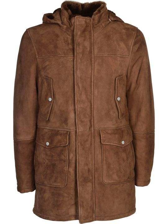 Eleventy Hooded Coat