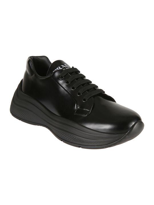 Prada Linea Rossa Logo Sneakers