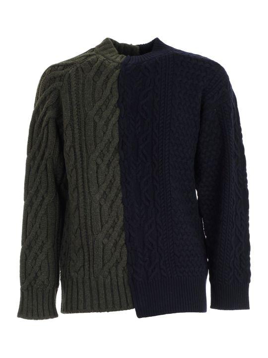 Sacai Sweater Jacquard