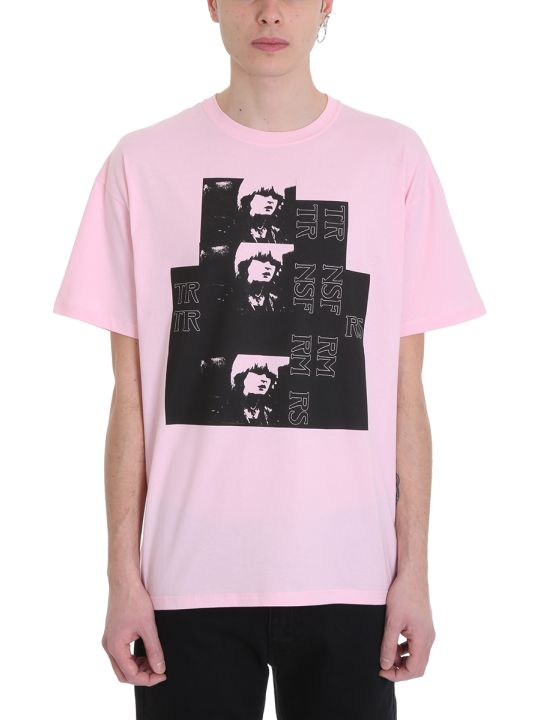 Raf Simons Toy Pink Cotton T-shirt