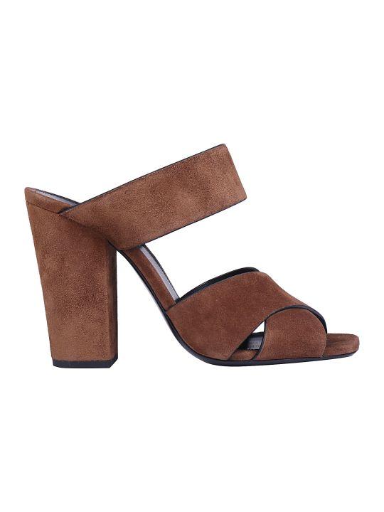 Saint Laurent Oak Sandals