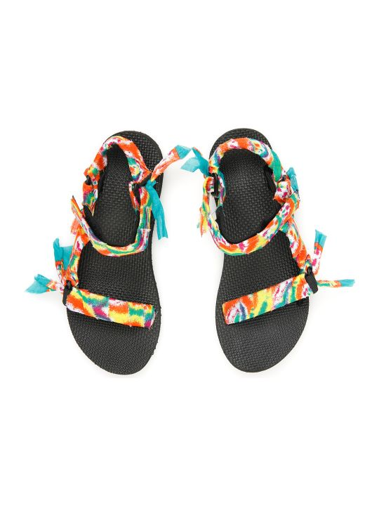 Arizona Love Tie-dye Trekky Sandals