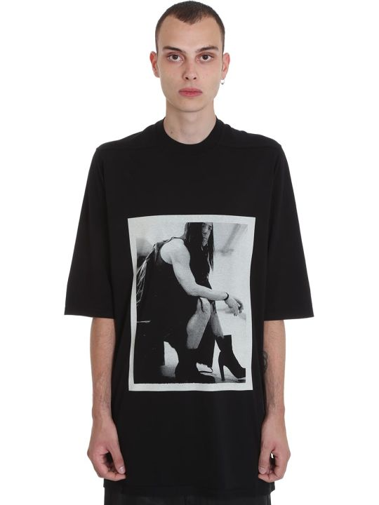 DRKSHDW Jumbo Tee T-shirt In Black Cotton