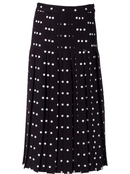 Vivetta Polka Dot Print Long Skirt