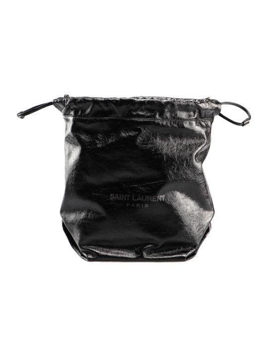 Saint Laurent Teddy Sac Bucket Bag