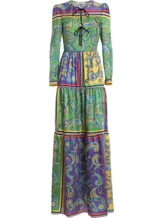 Philosophy di Lorenzo Serafini Long Print Tunic Dress