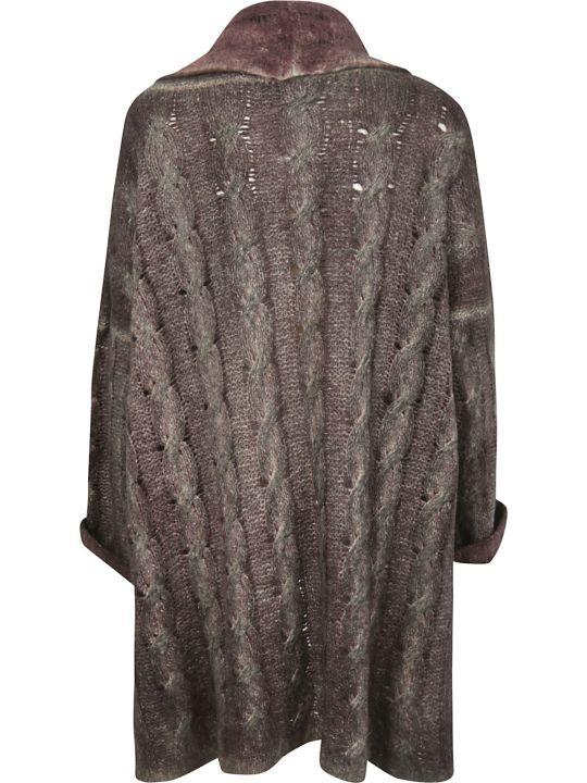 f cashmere Oversized Cardigan