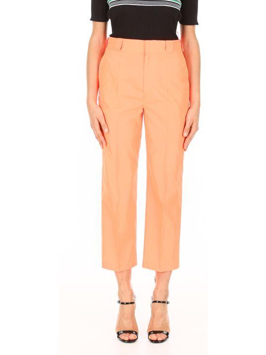 Prada Linea Rossa Nylon Gabardine Trousers