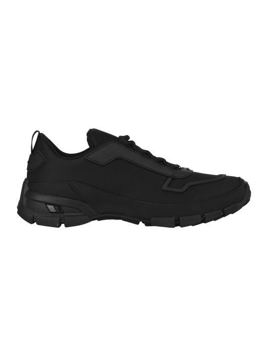 Prada Low-top Nylon Sneakers