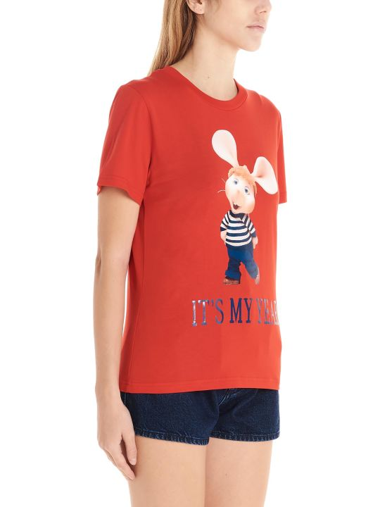 Alberta Ferretti 'topo Gigio It's My Year' T-shirt