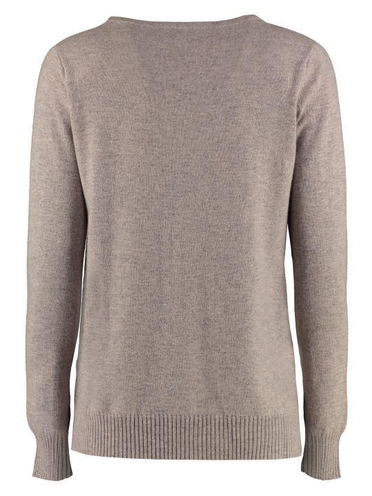 Max Mara Studio Sergio Wool And Cashmere Pullover