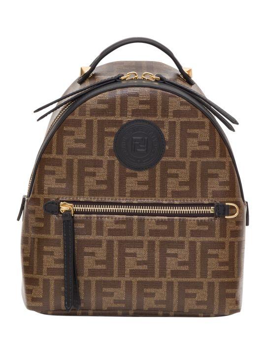 Fendi Monogram Mini Backpack