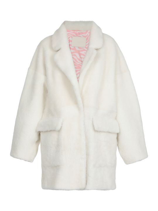 DROMe Shearling Fur Coat
