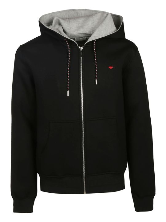 Christian Dior Bee Embroidered Hoodie