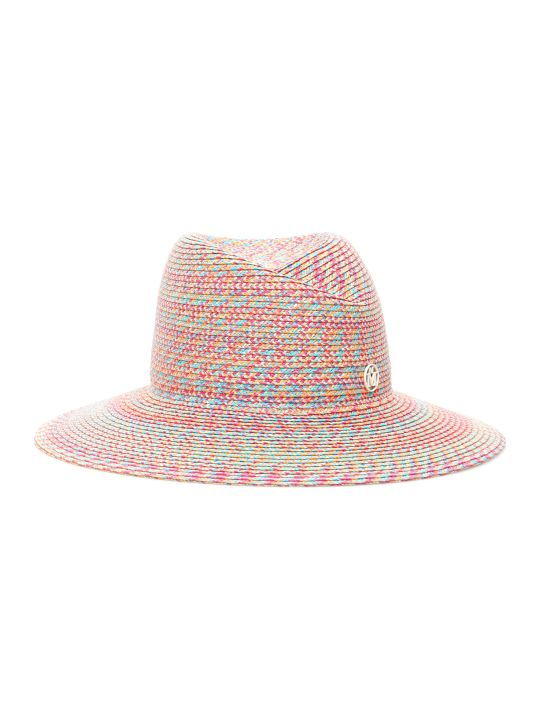 Maison Michel Virginie Multicolor Rafia Hat