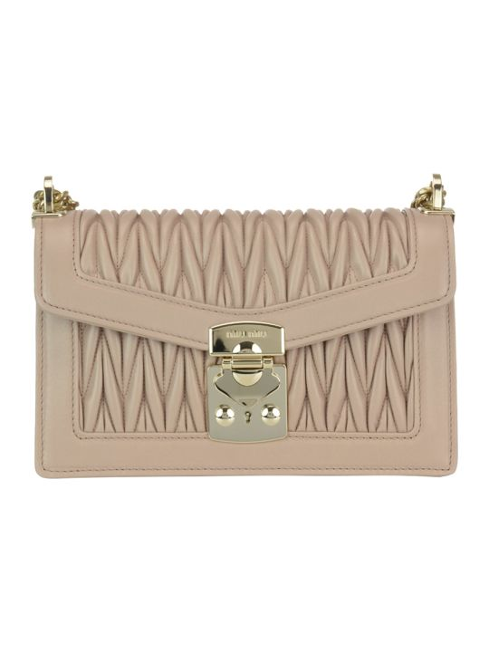 Miu Miu Miu Confidential Bag Matelasse Leather