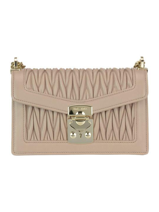 Miu Miu Miu Confidential Bag Matelasse Leather