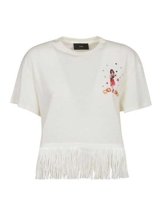 Alanui Fringe Cropped Top