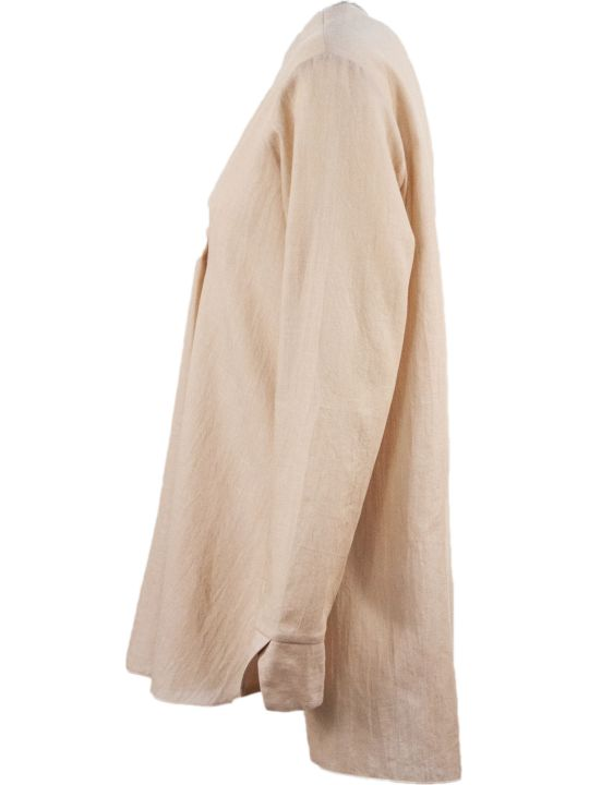 Fabiana Filippi Peach-tone Cotton Blouse