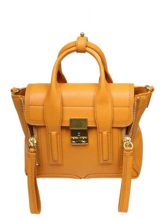 3.1 Phillip Lim Phillip Lim Pashli Mini Handbag In Yellow Zafferano Leather