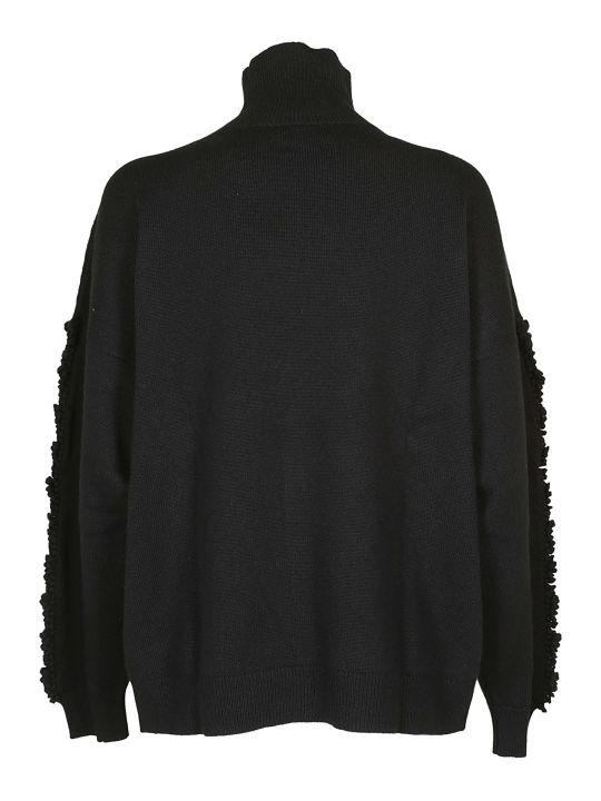 Barrie Fringe Detail Oversized Sweater