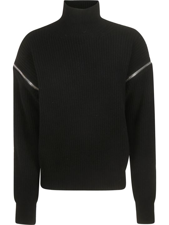 MSGM Zip Detail Sweater