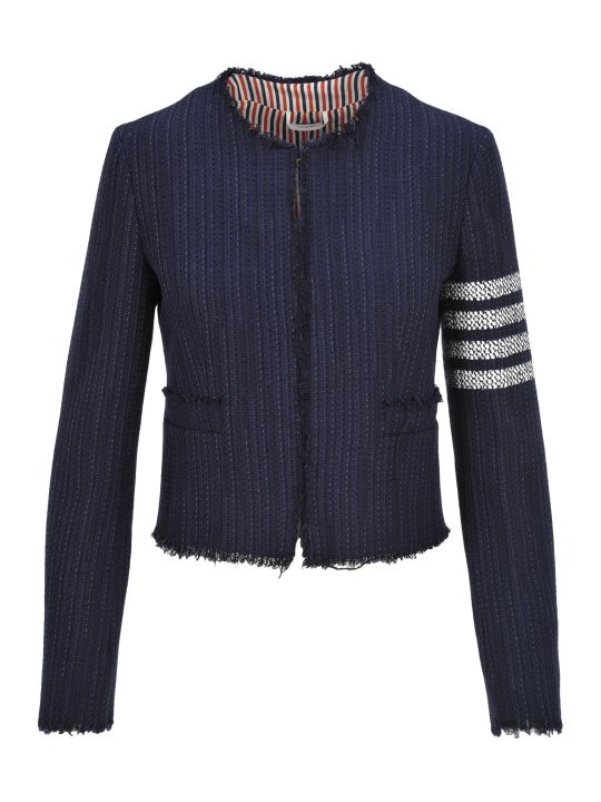 Thom Browne Cardigan Tweed Jacket