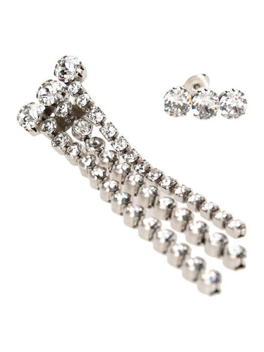 Isabel Marant Crystal Embellished Drop Earrings