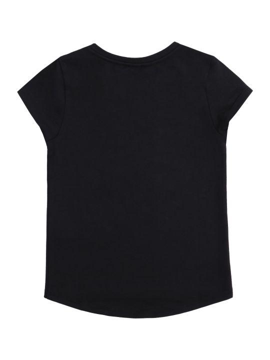 Kenzo Kids Logo Print Cotton T-shirt